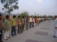 Jaipur Human Chain