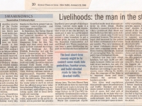 Sunday Times of India 22.January.2006