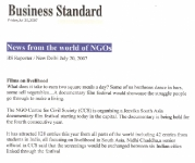 Business Standard 2007.July.20