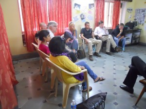 Participants during Discussion