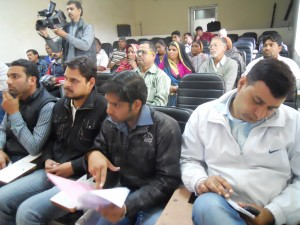 Press Representatives during Press Conference