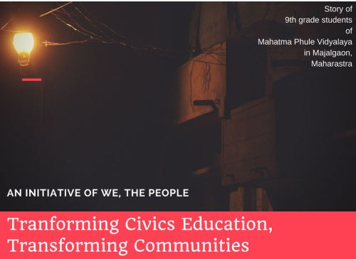 Transforming Civics Education, Transforming Communities